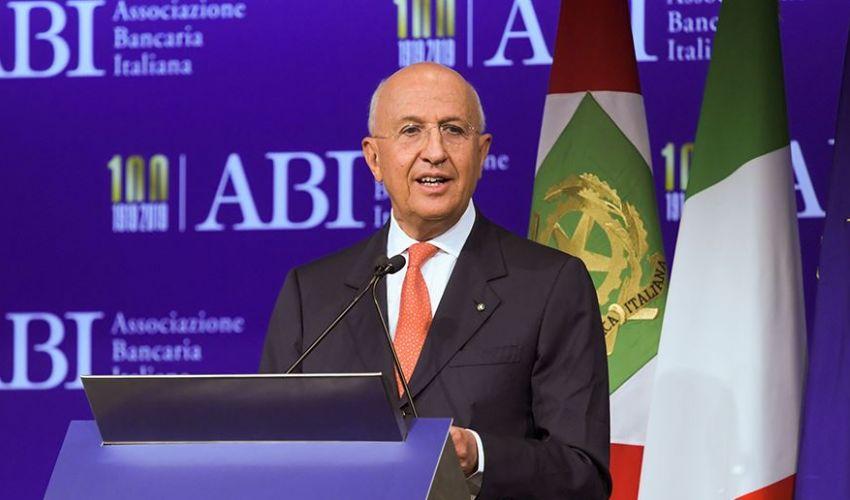 Antonio Patuelli (presidente Abi): «Miglioramento nelle banche italiane»