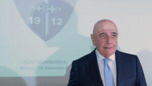 Secondo Galliani, il presidente Figc ha salvato la stagione