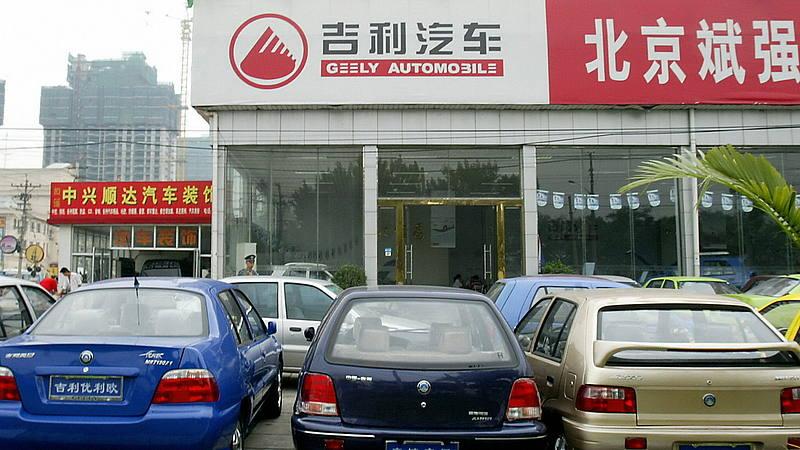 In Cina, forte ripresa del mercato delle automobili