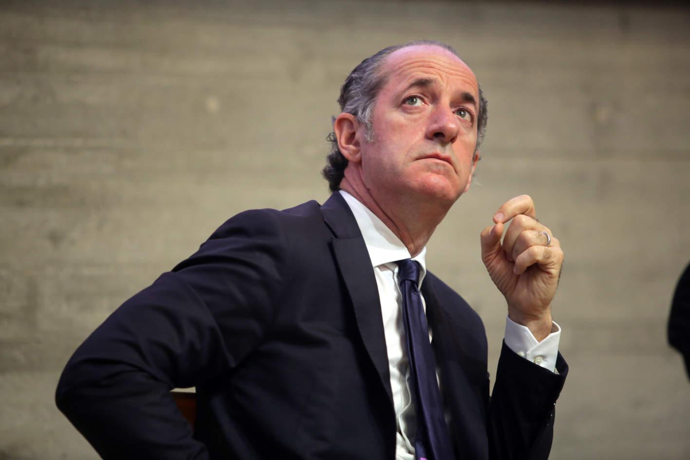 Luca Zaia (presidente Regione Veneto): «Contiamo i ricoverati e non i contagiati»