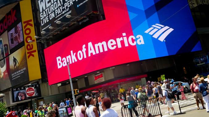 Bank of America: utili a picco nonostante il pacchetto di misure del governo federale