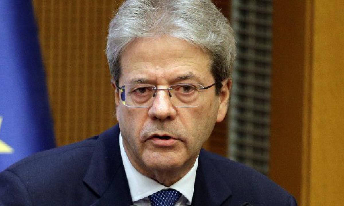 Paolo Gentiloni (Commissario europeo):«Autunno 2021: il più importante per l'economia italiana»