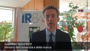 Il ministro Manfredi visita l'Irbm di Pomezia, in corsa per il vaccino anti coronavirus