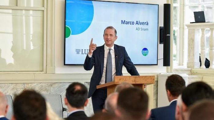 Marco Alverà (Snam), lanciate 4 startup per transizione energetica