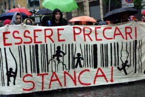 L'appello dei sindacati: il Governo tuteli i precari a rischio reddito