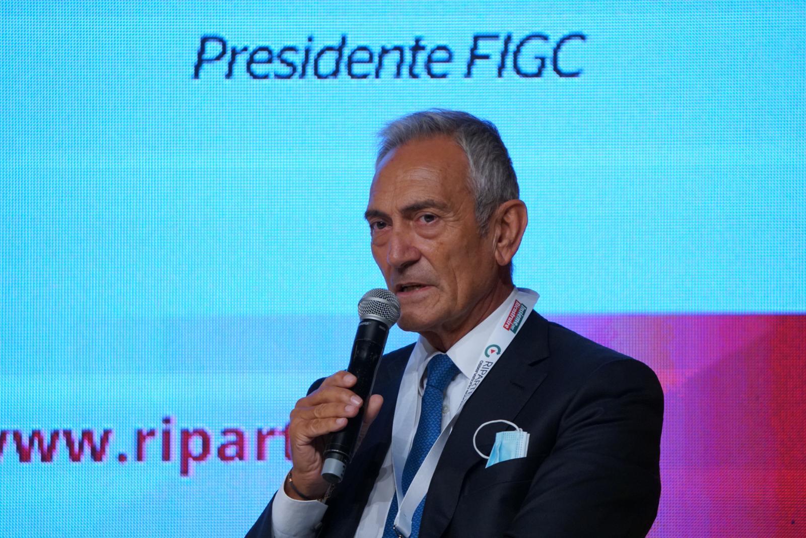 Calcio, Gravina: 2020 difficile ma abbiamo saputo reagire