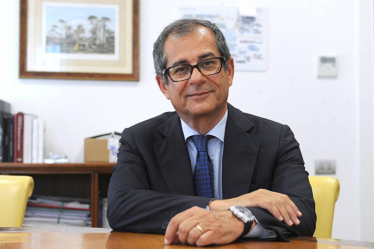 Giovanni Tria (ex ministro Economia): «Nadef: dati sono già abbastanza noti e sono positivi»