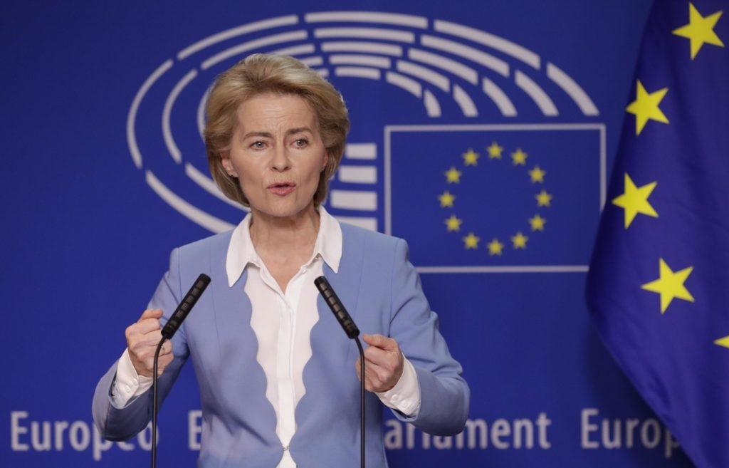 Ursula von der Leyen (presidente della Commissione Ue): «Sui migranti regole comuni e oneri condivisi»