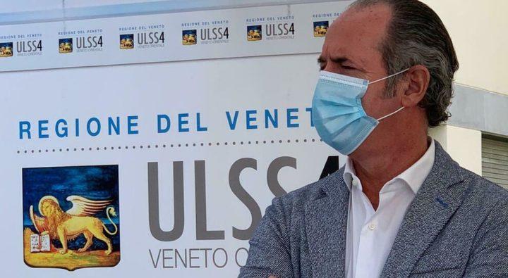 Luca Zaia (Presidente della Regione Veneto): «Testo del Dpcm preconfezionato, non ci hanno ascoltati»
