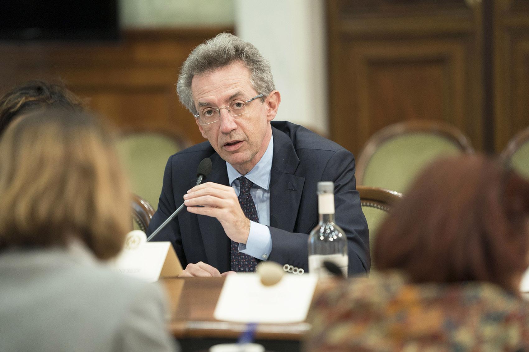 Gaetano Manfredi candidato sindaco di Napoli