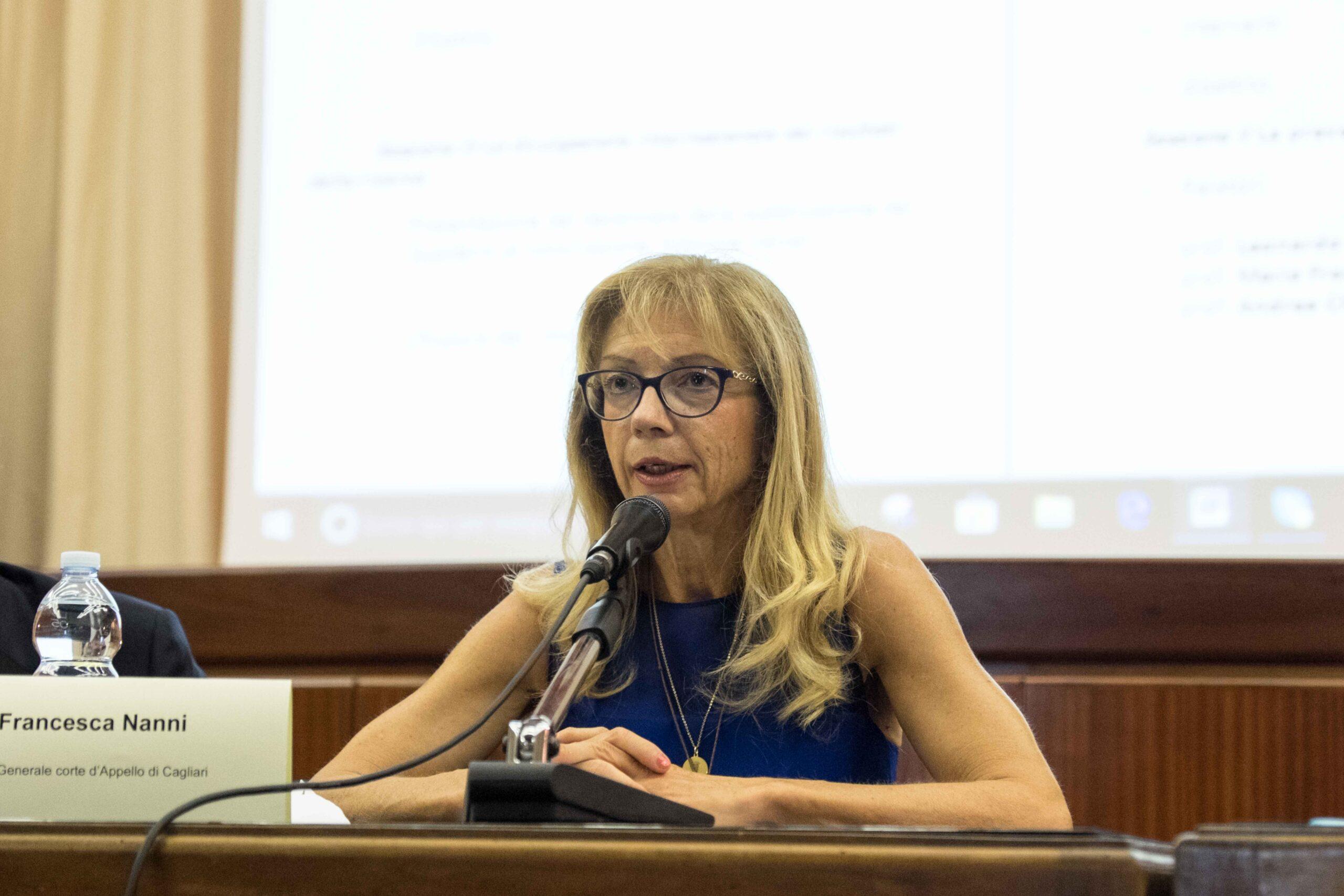 Francesca Nanni (Procuratore Generale di Milano): «Iniziare a costruire partendo da conoscenza e dialogo»