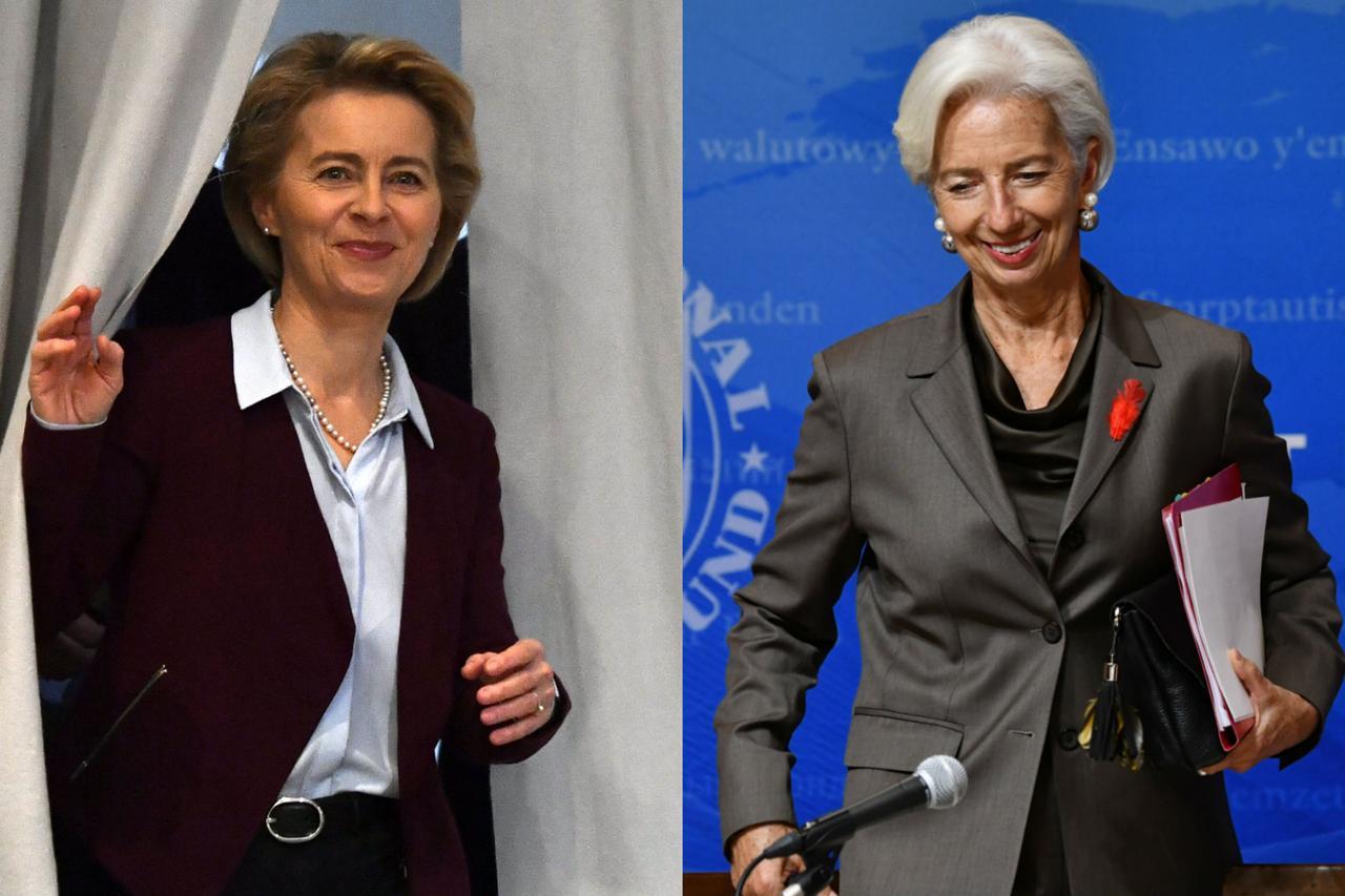 Ursula Von der Leyen Christine Lagarde