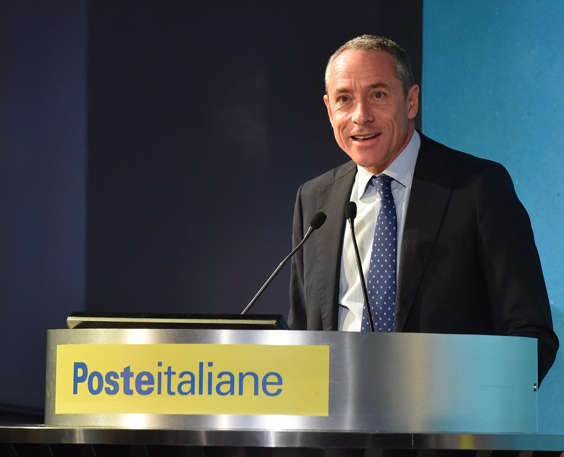 Matteo Del Fante AD e DG Poste Italiane