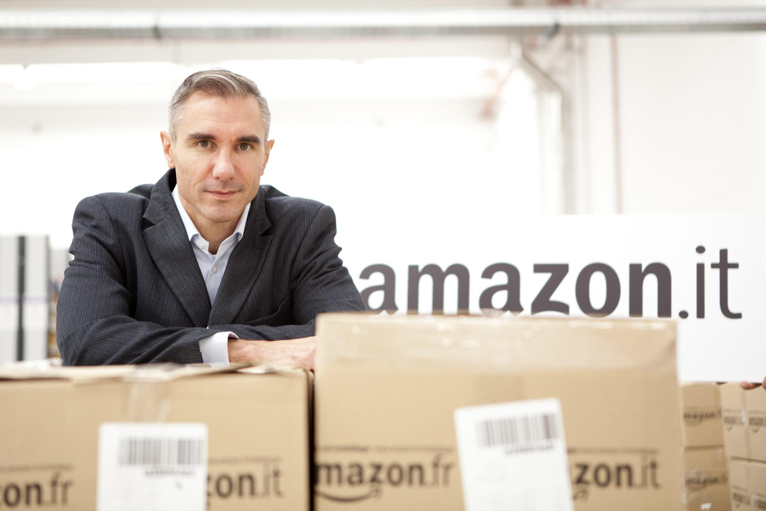 Stefano Perego (VP Amazon EU Operations): «Orgogliosi di espandere la nostra attività in Abruzzo»