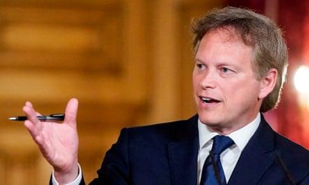Grant Shapps Ministro Trasporti GB