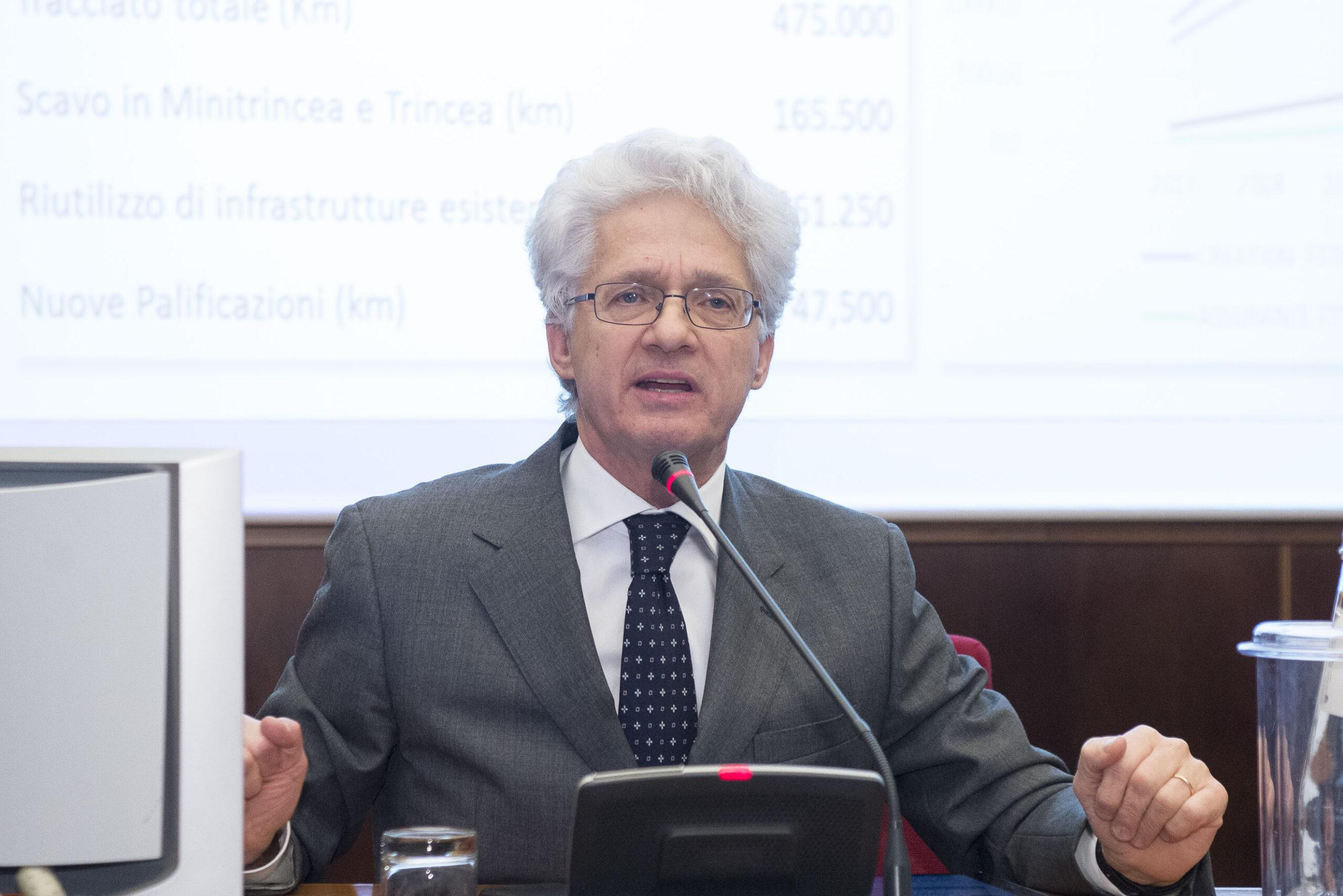 Stefano Pileri CEO Italtel