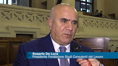 Rosario De Luca Presidente Fondazione Studi consulenti del lavoro