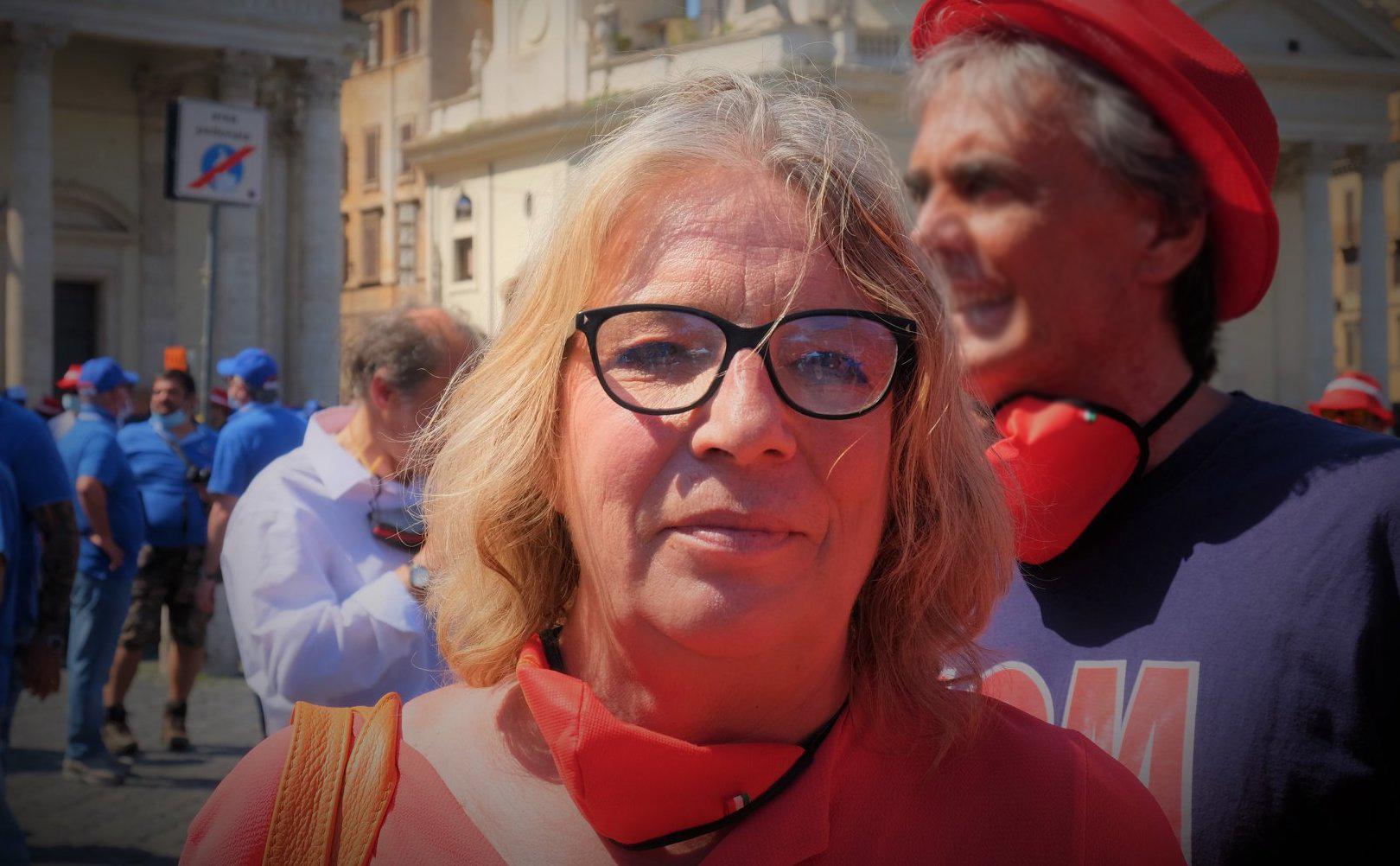 Francesca Re David (segretaria Fiom): «Le aziende licenziano, ma non sono in crisi»