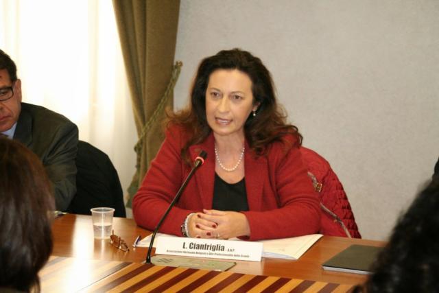 Licia Cianfriglia membro eletto del CSPI (Consiglio Superiore della Pubblica Istruzione)