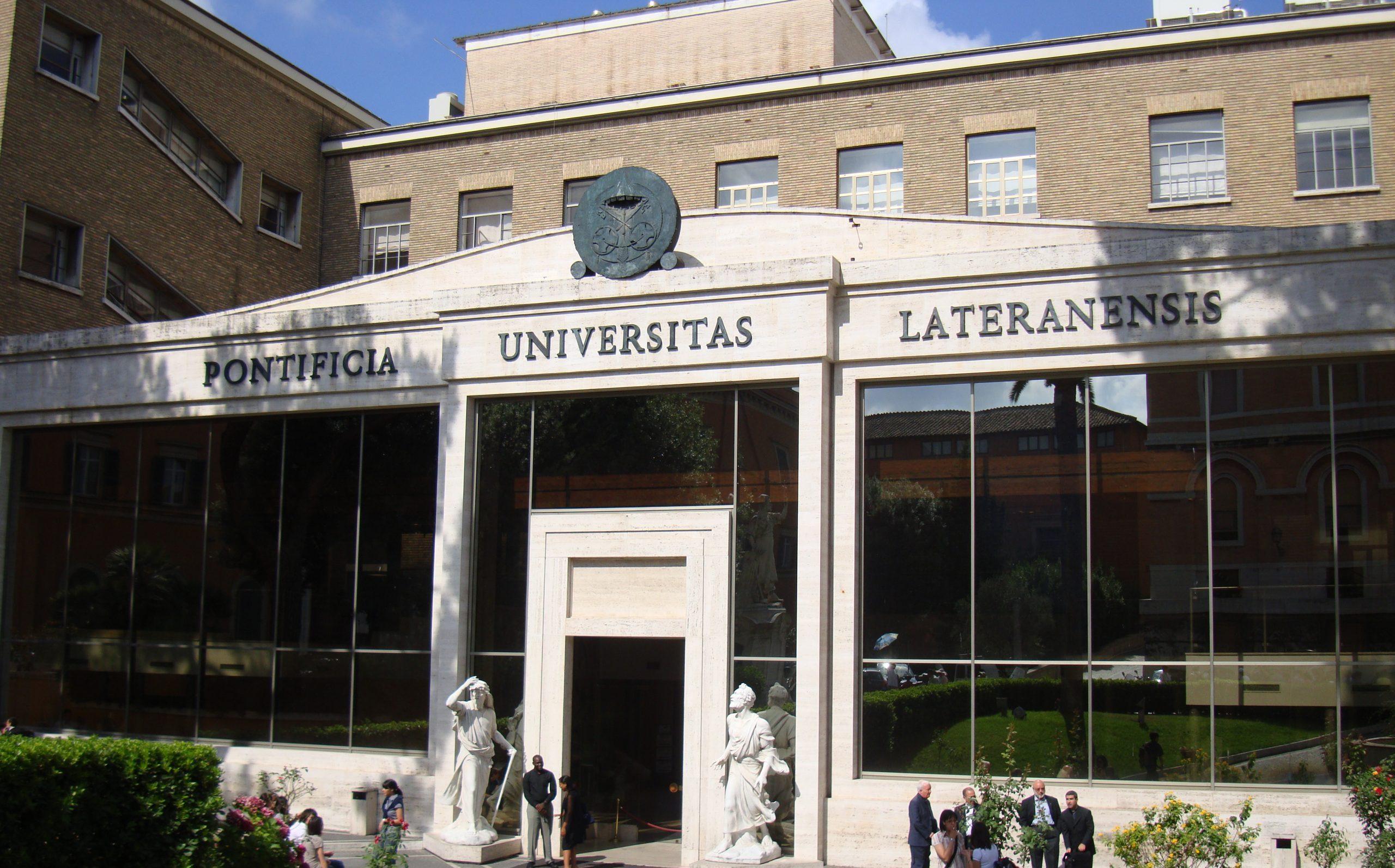Pontificia Università Lateranense,Incocciati nuova Segretaria