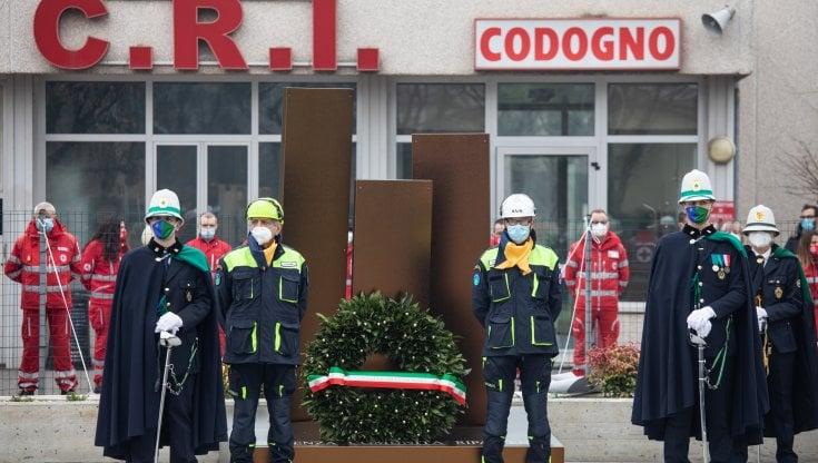 memoriale Covid a Codogno