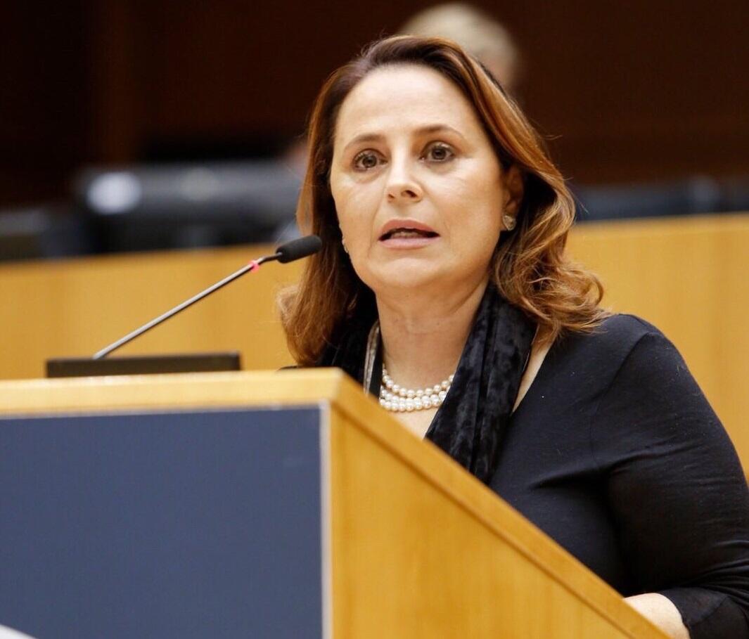 Luisa Regimenti eurodeputata Lega