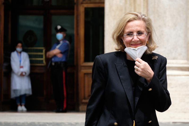 Lucia Calvosa Presidente Eni