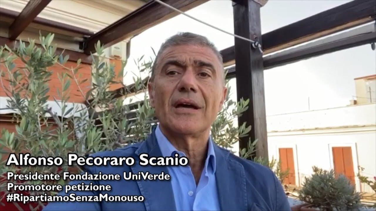 Alfonso Pecoraro Scanio Presidente Fondazione UniVerde