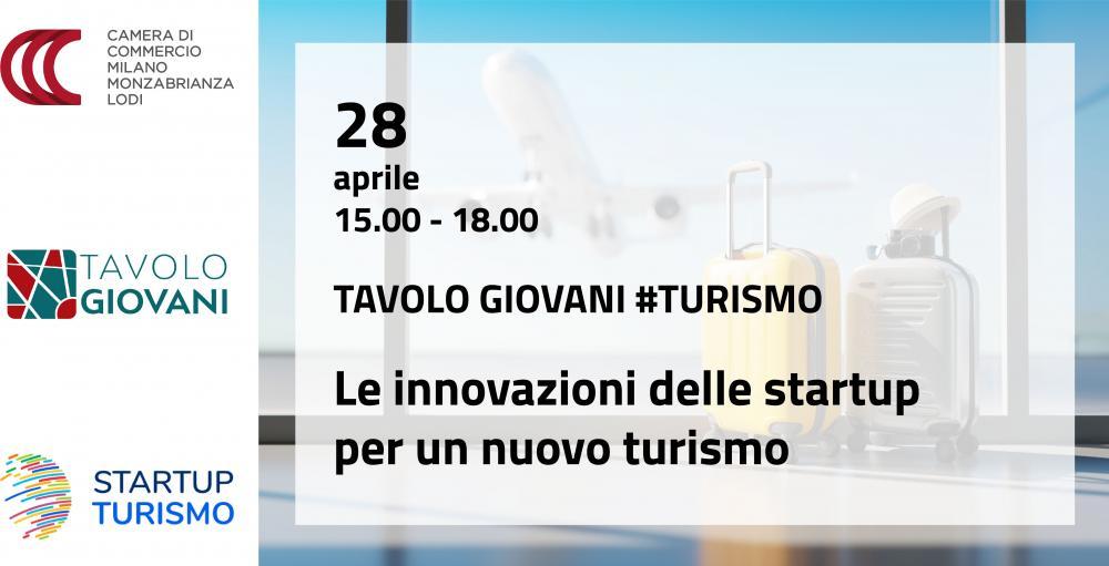 Tavolo Turismo Giovani startup