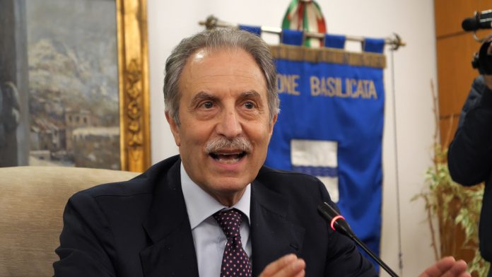Vito Bardi Presidente Regione Basilicata