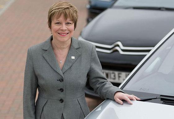 Linda Jackson CEO Peugeot