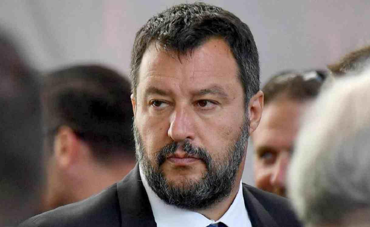 Matteo Salvini Leader Lega