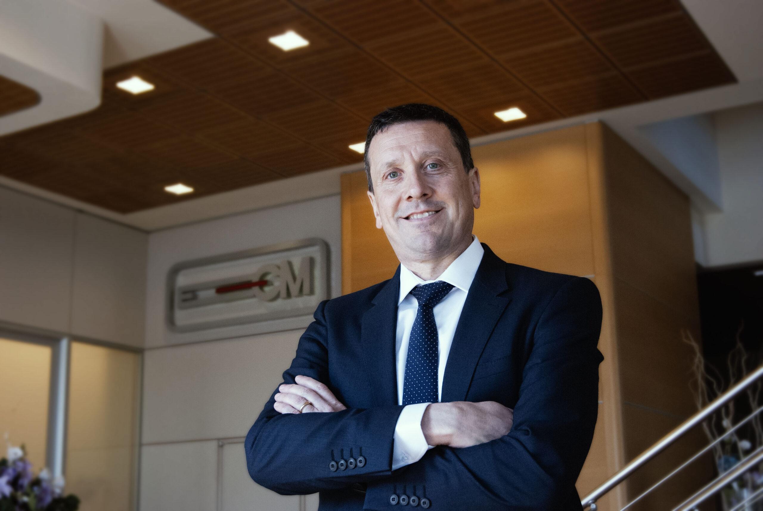 Paolo Covoni Amministratore Delegato ECM