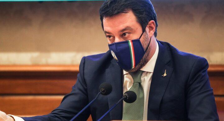 Matteo Salvini (leader Lega): «Mps: realtà sana, occorre riflettere prima di farle chiudere i battenti»