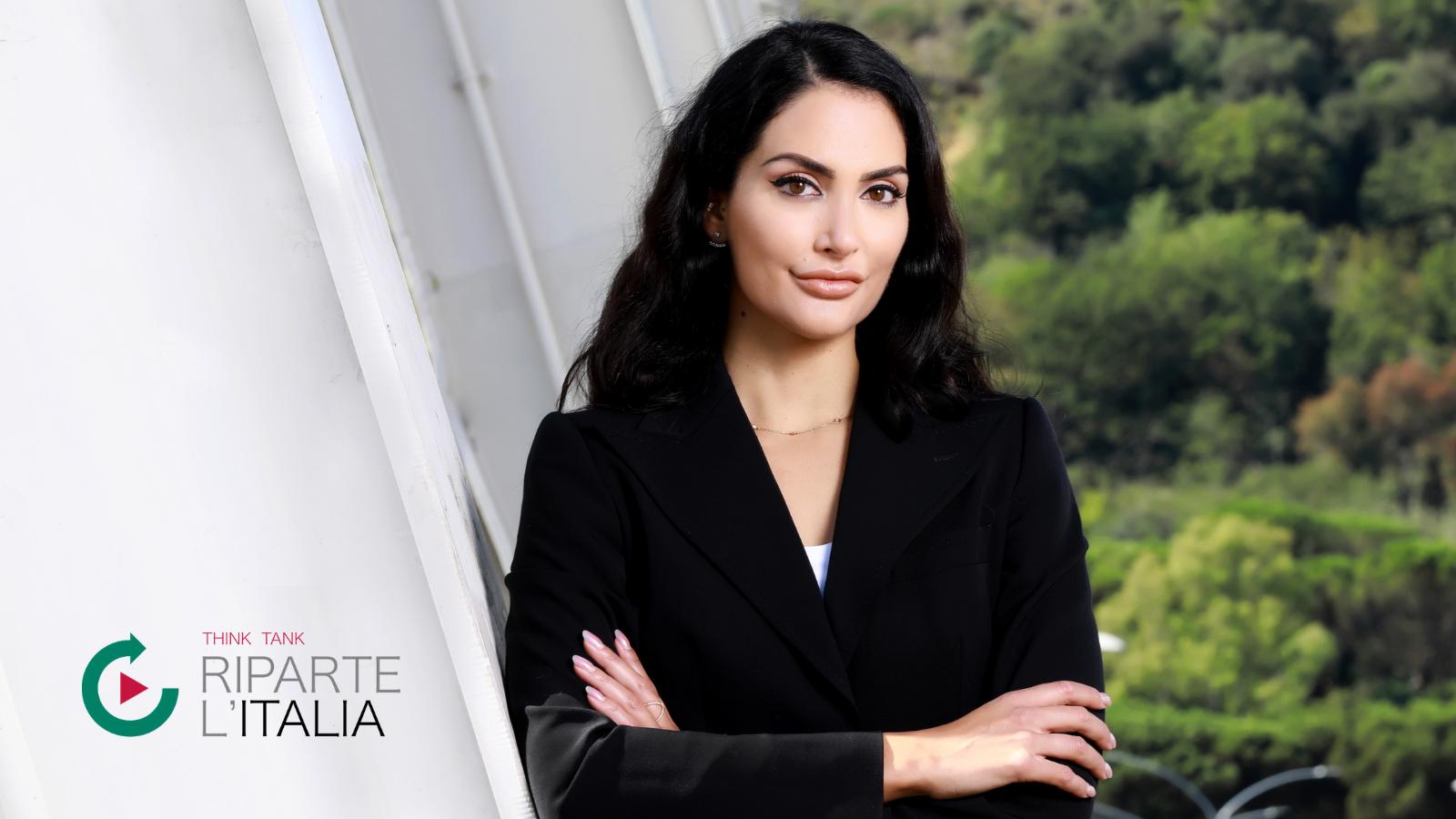 Angelica Donati entra nell'Osservatorio Riparte l'Italia