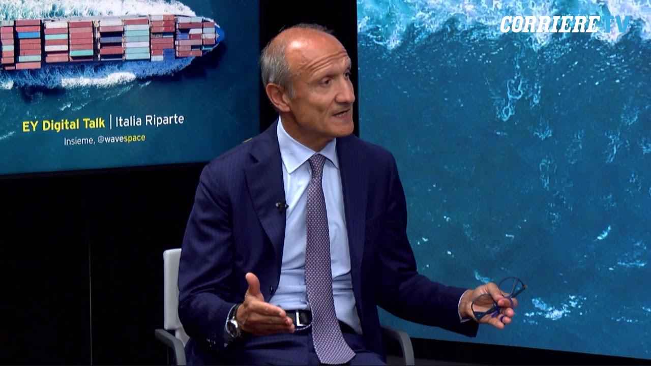 Massimo Antonelli (ceo EY Italia): «Sud: con il Pnrr opportunità di innovazione e rilancio del Paese»