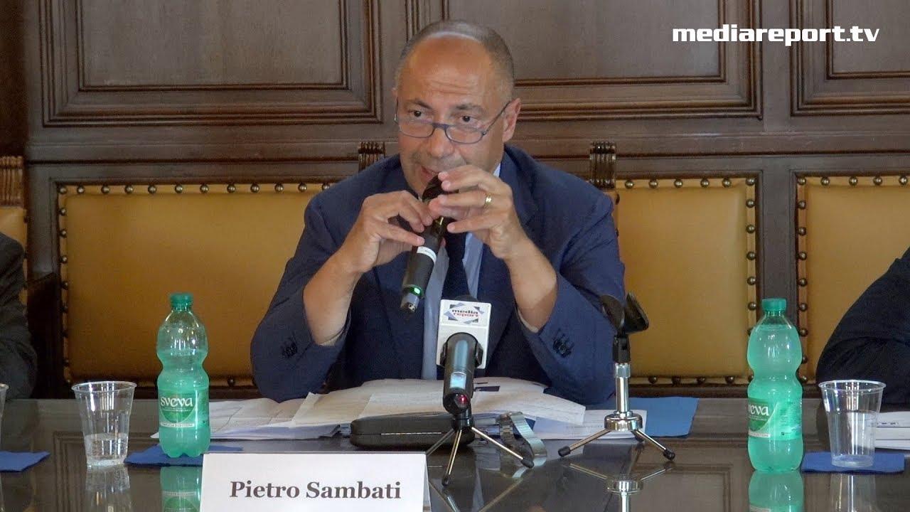 Pietro Sambati (direttore sede Bari di Banca d'Italia): «Centrale il tema della povertà: dobbiamo recuperare i livelli di occupazione e reddito pre-crisi»