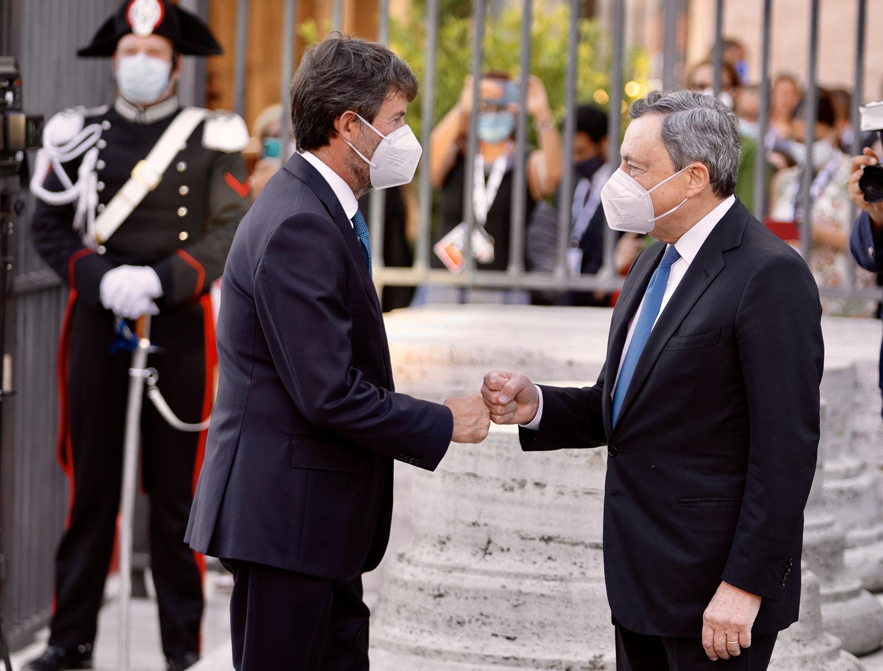 Draghi al G20 Cultura