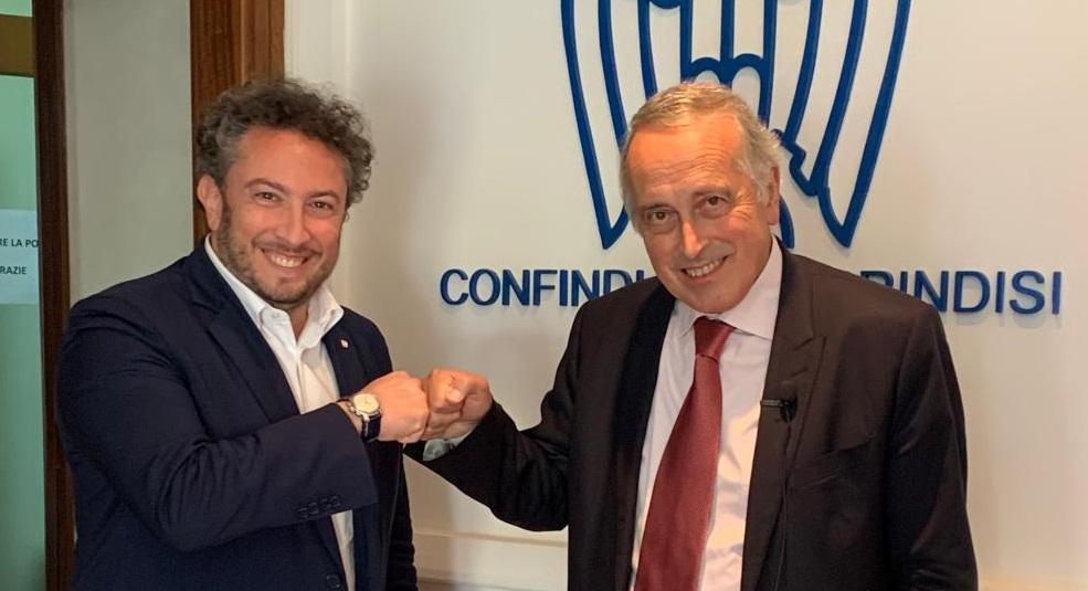 Accordo Confindustria Brindisi e Fedimpresa Italia