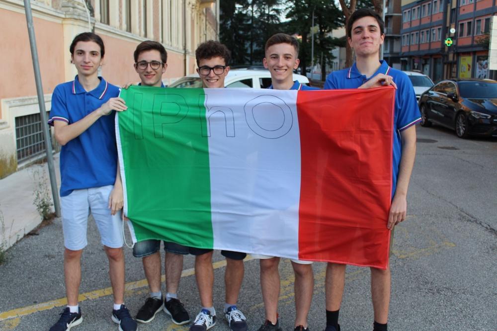 Olimpiadi internazionali di fisica, medaglie per l'Italia