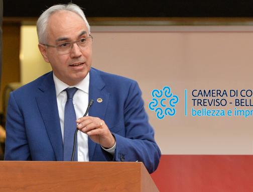 Mario Pozza (presidente Camera di Commercio Treviso-Belluno): «L'export di Belluno sta registrando grandi risultati»