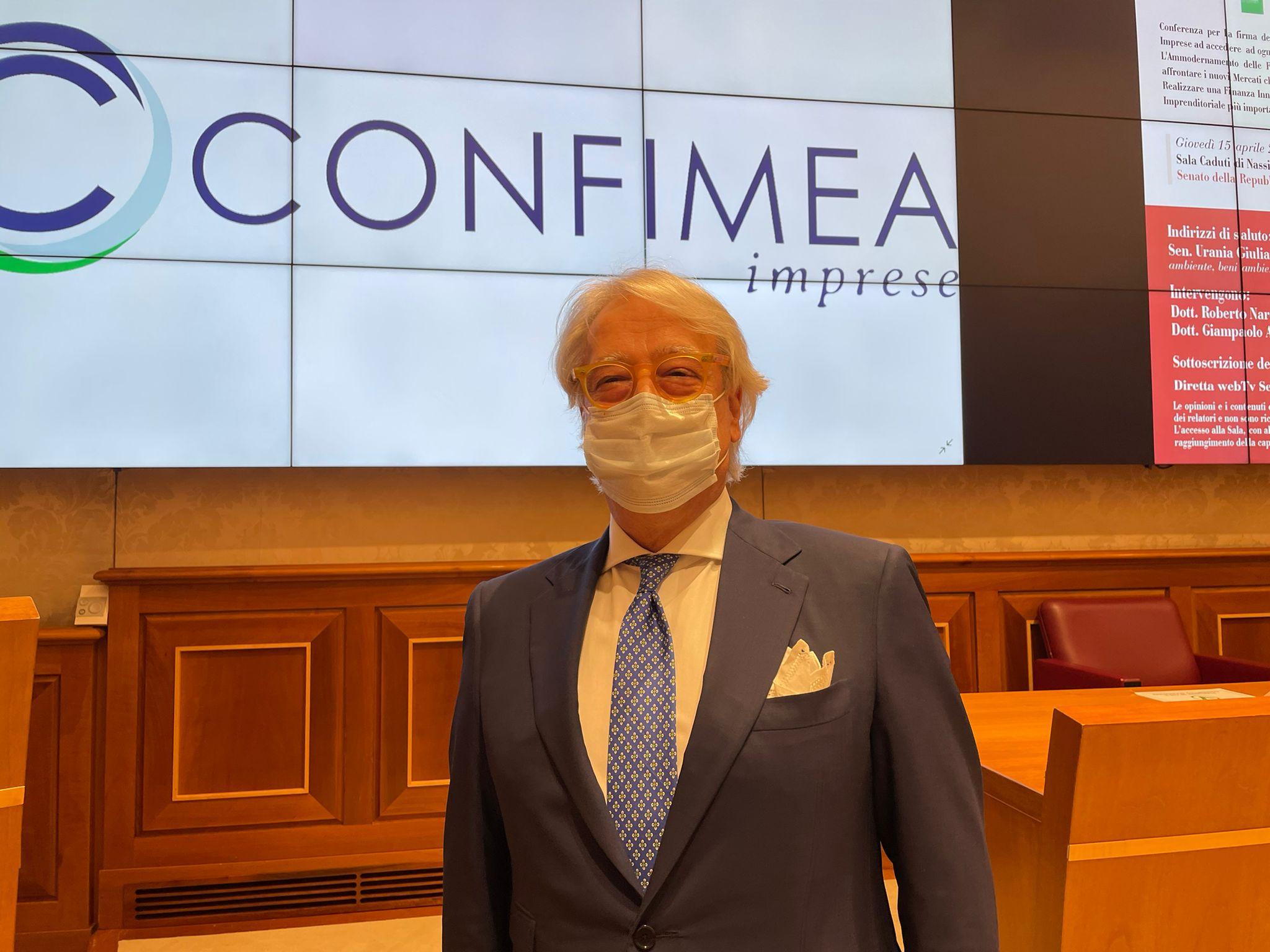 Roberto Nardella, presidente di Confimea