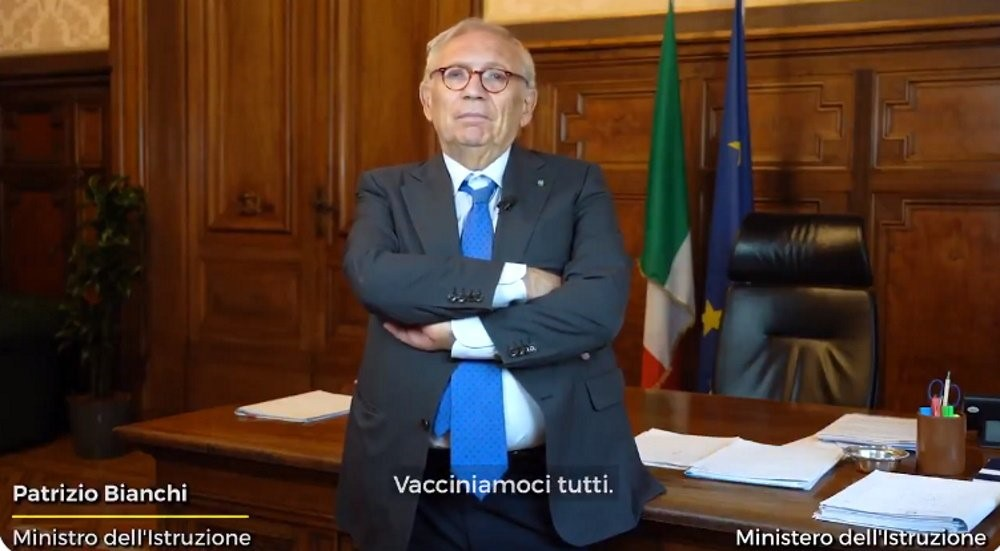 Patrizio Bianchi Ministro dell'Istruzione