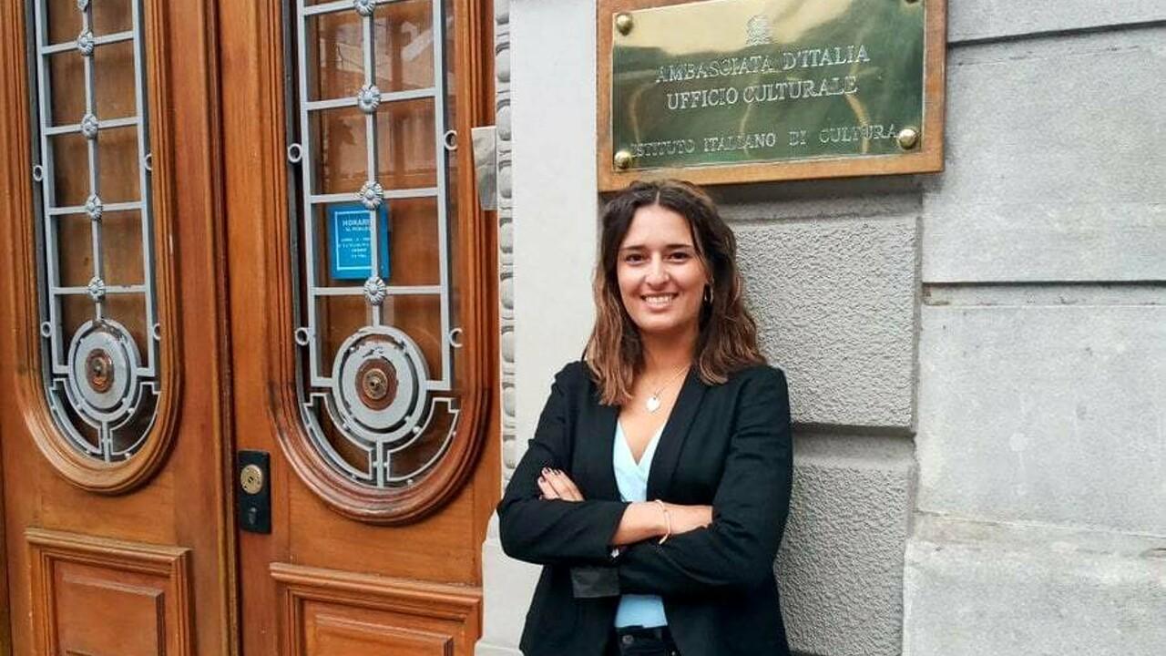 Silvia Merli è ambasciatrice della cultura italiana in Uruguay