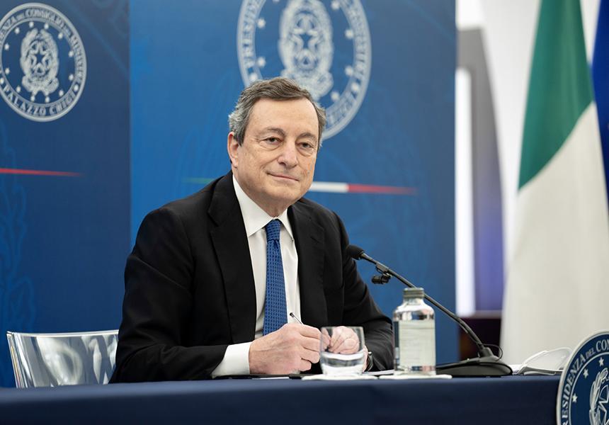 Draghi protagonista rinascimento europeo