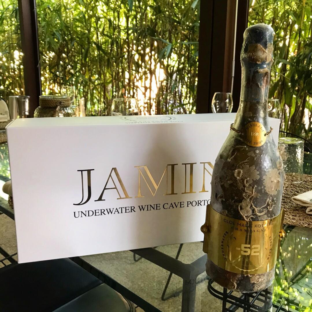 Jamin: la prima azienda italiana a conservare il vino in mare