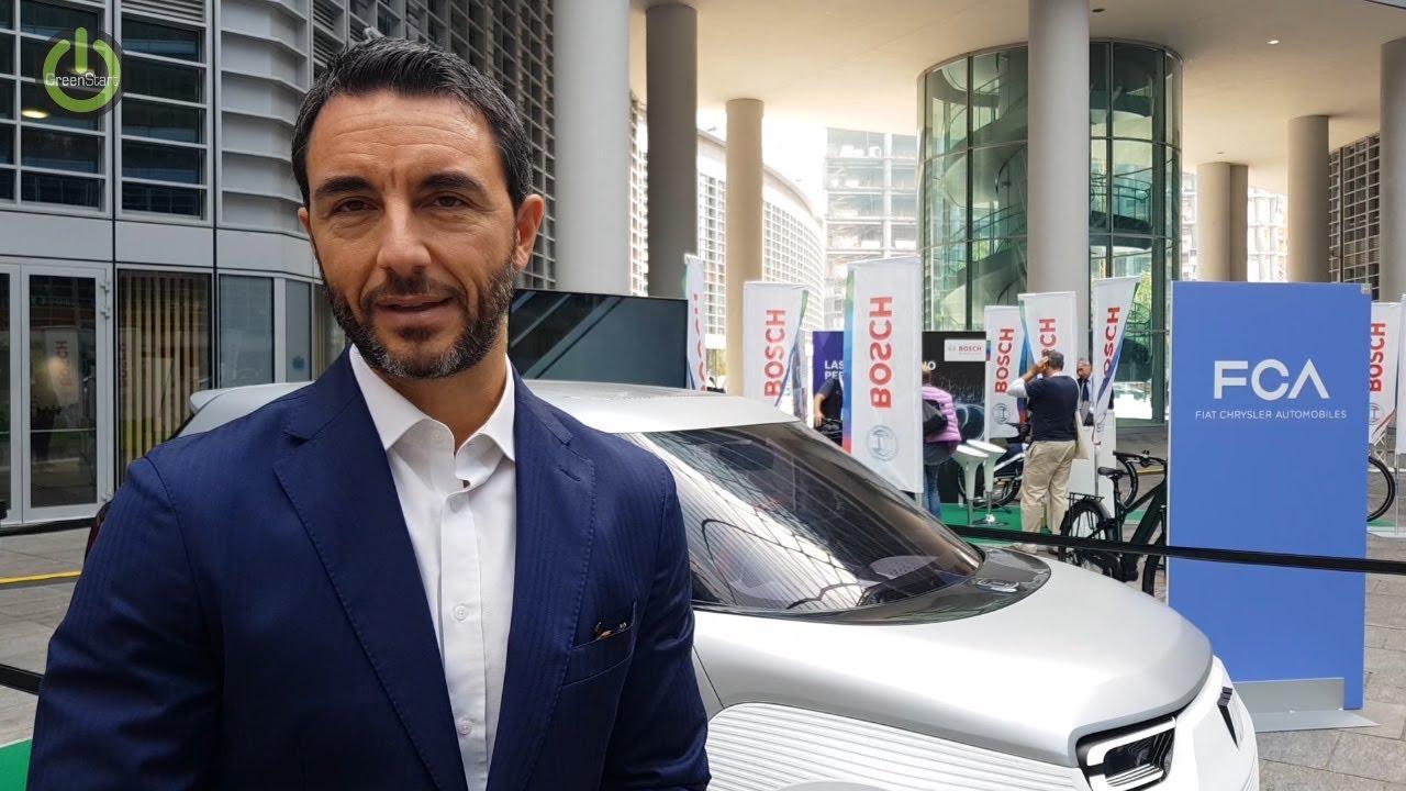 Daniele Lucà (senior vicepresidente Mobility Solutions): «Mobilità sostenibile: furgoni AmicoBlu a metano»