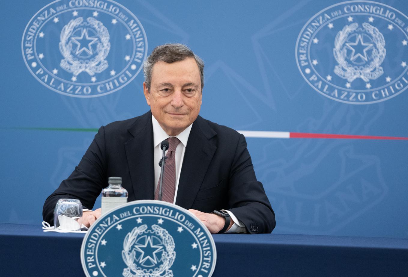 Conferenza Stampa Mario Draghi 2 settembre 2021