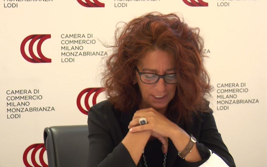 Elena Vasco Segretario Generale Camera di Commercio Milano Monza Brianza Lodi