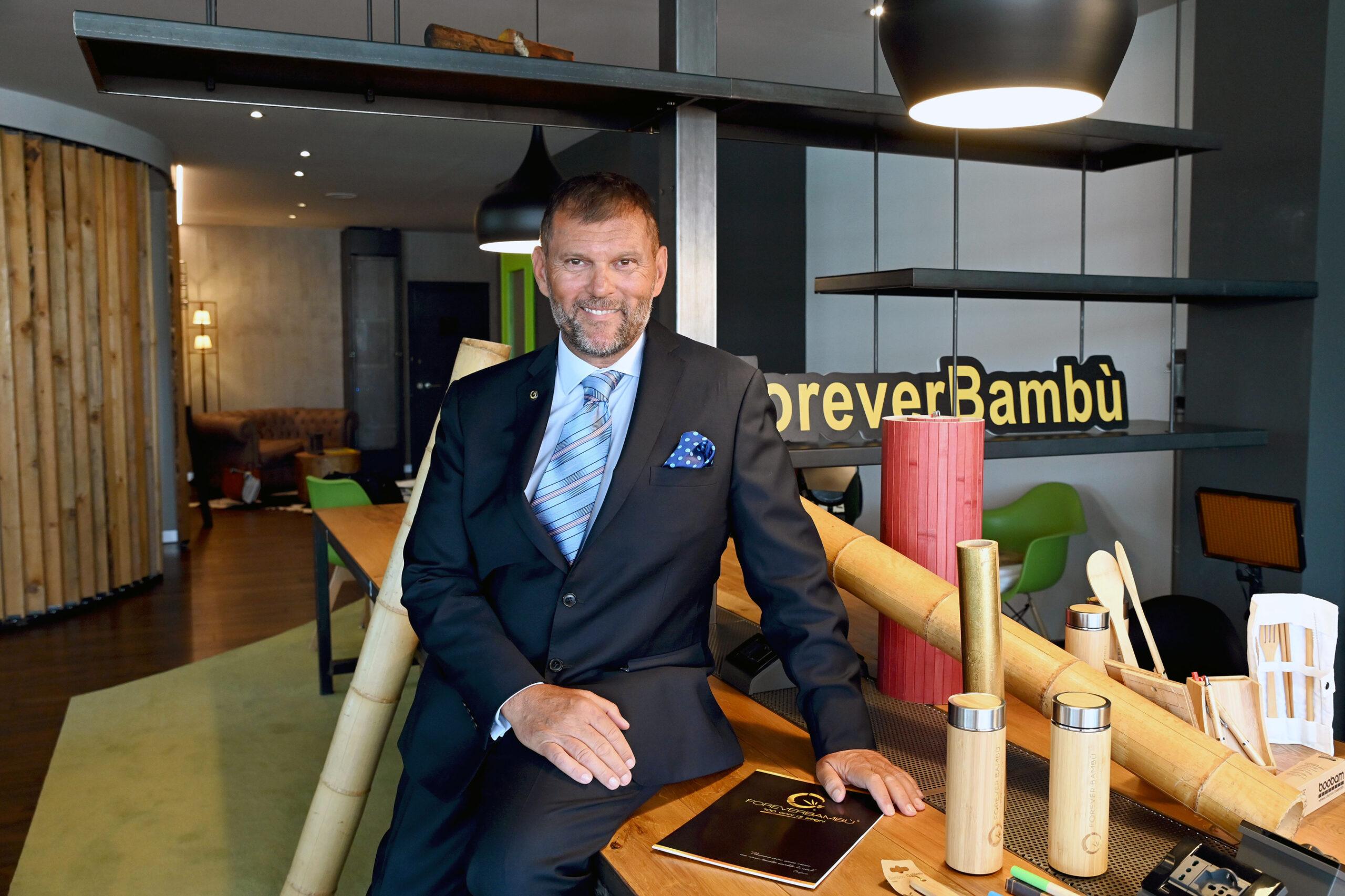 Emanuele Rissone Presidente e Fondatore Forever Bambù